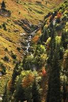 valle del medeo. kazakistan