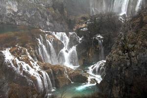 parco nazionale dei laghi di plitvice in croazia foto
