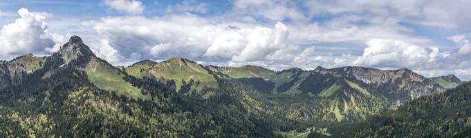 panorama bayerische berge foto
