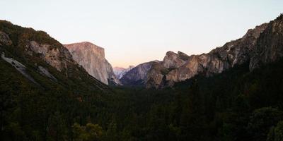 parco nazionale di yosemite foto