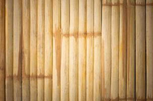 grunge background di bambù giallo e texture