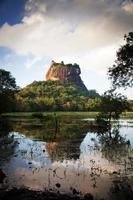 fortezza della roccia del leone di sigiriya in Sri Lanka