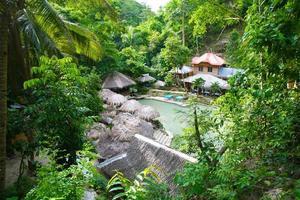 villaggio della foresta pluviale foto