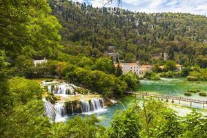 nationalpark krka (kroatien, dalmatien) foto