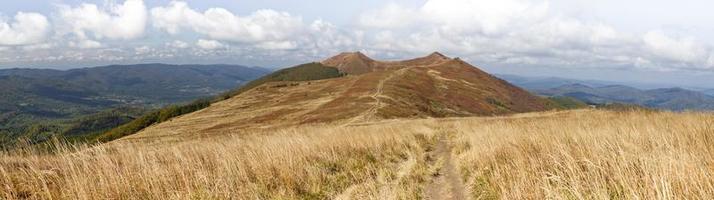 montagne bieszczady in polonia foto