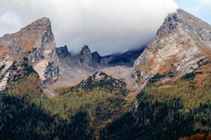 montagne di berchtesgaden foto