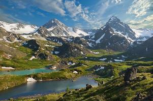 montagne di altai foto