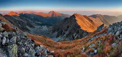montagna slovacca foto