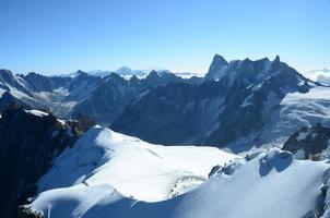 scenario di montagna foto