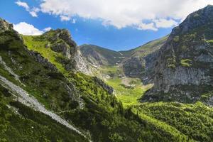 pendii di montagna nella montagna polacca dei tatra