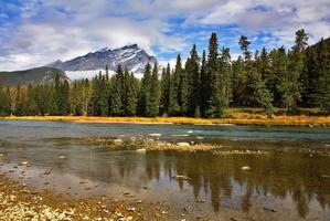 riserva di montagna. foto