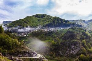 villaggio di montagna foto