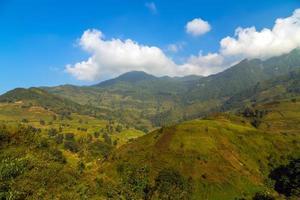 montagna del vietnam foto