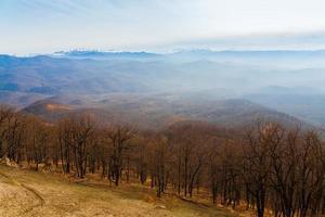 autunno di giorno di montagna foto