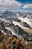 montagne del pamir foto