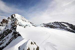 montagna della Jungfrau foto