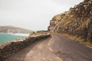 irlandese strada di montagna