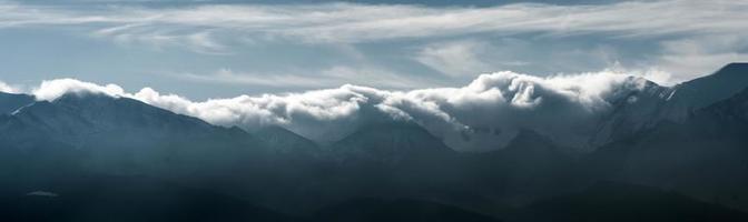 vista sui monti tatra foto