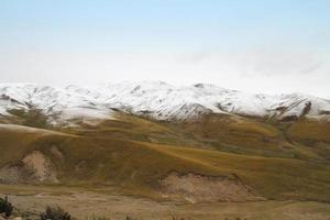 bella vista sulle montagne foto