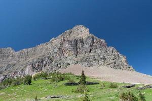 possente montagna - immagine stock foto
