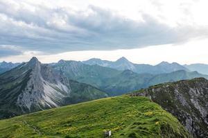 berge in österreich foto