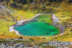 lago come il cuore foto