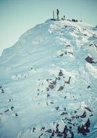chopok di collina ai bassi tatra, slovacchia foto