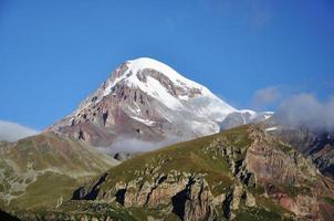monte kazbek foto