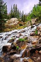 parco nazionale di montagna rocciosa foto