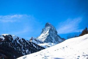 il cervino in svizzera foto