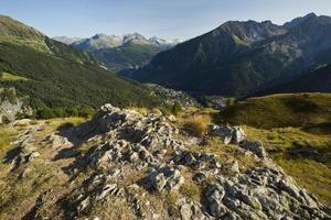 Courmayeur, Valle d'Aosta, Italia foto
