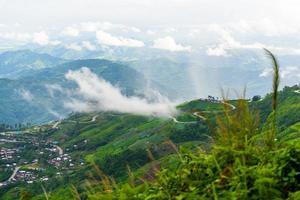 strada di montagna a (phu tubberk)