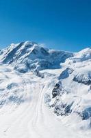 montagna di neve