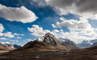 la montagna foto