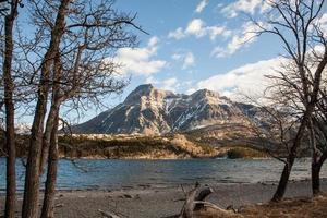 montagna, parco nazionale dei laghi waterton foto