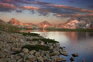 lago tevno - montagna pirin - bulgaria