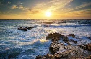 bellissimo paesaggio marino.