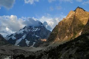 montagne, il caucaso settentrionale. foto