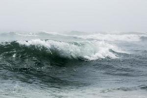 onda dell'oceano foto