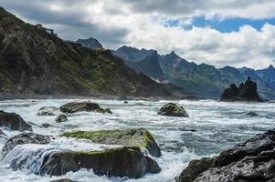 tempesta oceanica foto