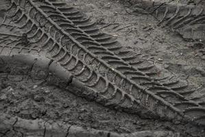 tracce delle ruote foto