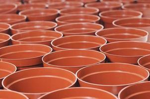 vasi per piante in plastica foto