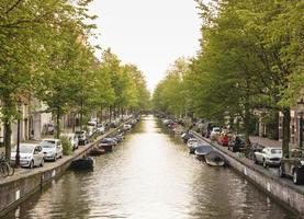 canale di amsterdam foto