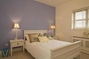 camera da letto dal design interno foto