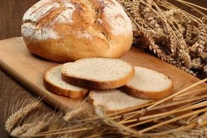 pane e spighe di grano