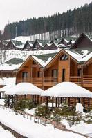 cottage in legno foto