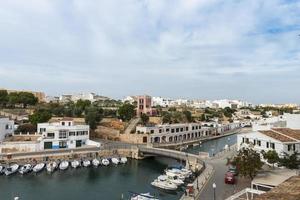 puerto de ciudadela, menorca, islas baleares