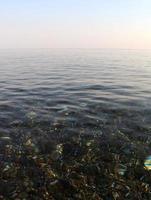 spiaggia marina di camerota (italia) foto
