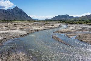 seclantas nella provincia di salta, argentina. foto