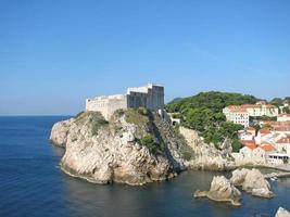 castello di lovrijenac, dubrovnik foto